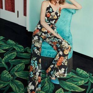 Anthropologie Yumi Kim Roe Floral Jumpsuit M